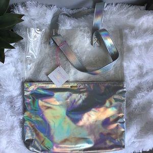 Ban.do Holographic Tote Bag NWT